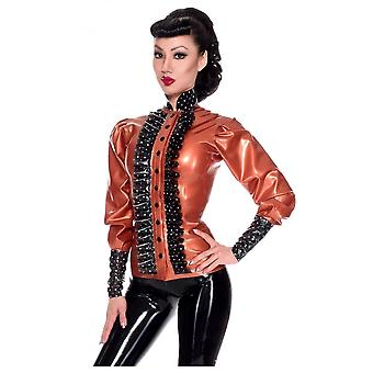 Westward Bound Bossy Boo Rubber Latex Blouse.