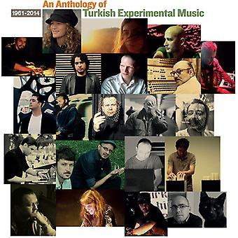 Forskellige kunstner - en antologi af tyrkiske eksperimenterende musik [CD] USA importerer