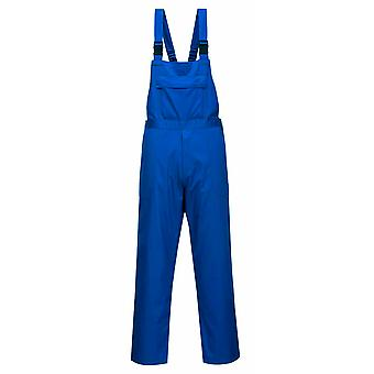 Portwest - Workwear Chemical Resistant Bib& Brace Coverall Dungarees