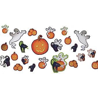 30 Halloween Cutout Wall Decorations