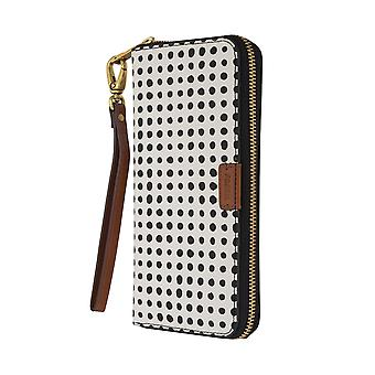 FOSSIL ladies wallet purse coin purse with RFID-chip protection white 6550