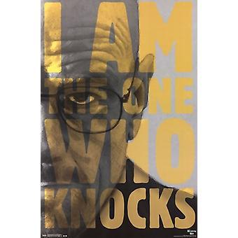 Breaking Bad - die eine, Close Up Poster Poster Print klopft