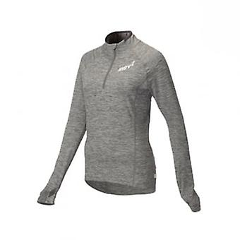 AT/C Long Sleeve Womens Running Mid Layer Light Grey