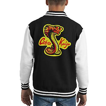 Varsity Jacket di Cobra Kaiju del Pacifico Karate Kid Kid