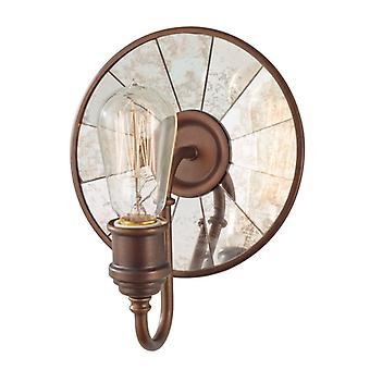 Urban Renewal Astral Bronze Wall Light Fixture - Elstead Lighting Fe/urbanrwl/wb2