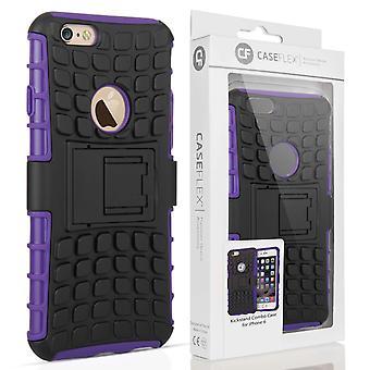Caseflex iPhone 6 og 6s støtteben Combo sag - lilla