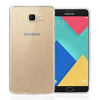 Yousave accesorios Samsung Galaxy A9 Ultra delgada Gel caso - claro