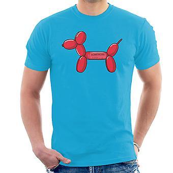 Balloon Dog Ate My Homework Men's T-Shirt