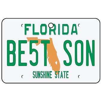 Florida - Best Son License Plate Car Air Freshener