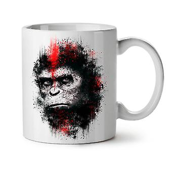 Monkey Face Beast NEW White Tea Coffee Ceramic Mug 11 oz | Wellcoda