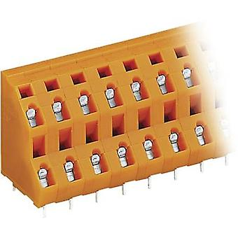 2-tier terminal 2.50 mm² Number of pins 6 WAGO Or