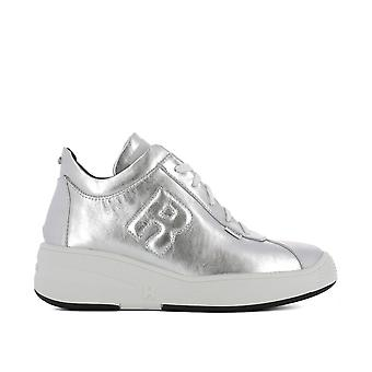 RUCO line women's 7200LAMARGENTO silver leather of sneakers