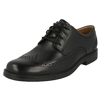Mens Clarks Formal Wing Tip Shoes Un Aldric Wing