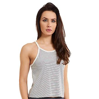 LingaDore 2928-167 Women's Comfy Grey Striped Pajama Pyjama Top