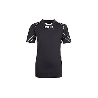 BLK Icon Kids S/S Match Rugby Shirt