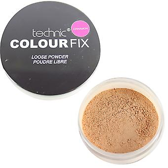 Technic Colour Fix Loose Powder Face Foundation Cinnamon