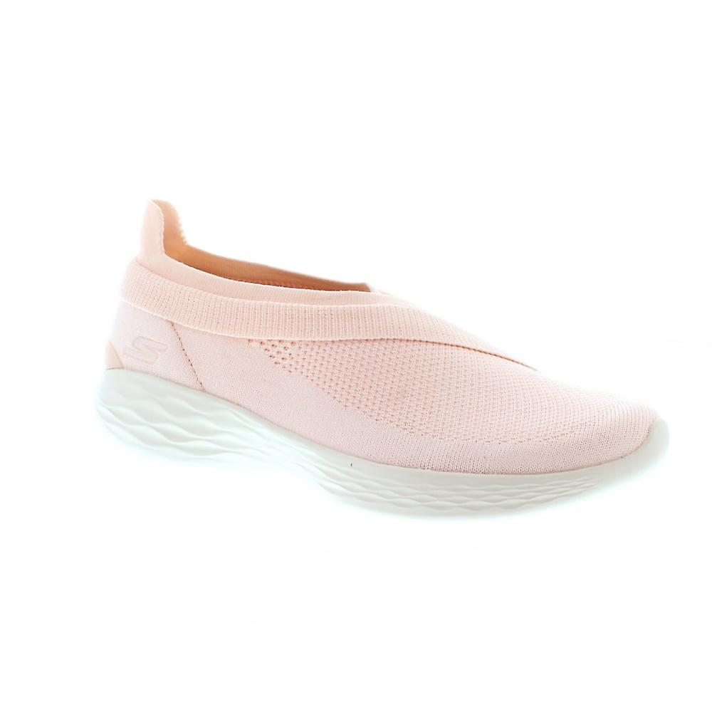 Skechers 14955 You Luxe - Pink (Textile) Womens Trainers