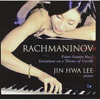 Rachmaninoff - Klaver Sonata 1 [CD] USA importerer