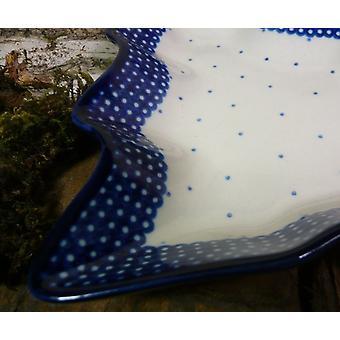 Platte / Schale in Tannenbaumform, 20 x 20 cm, Unikat 18 - BSN 21097