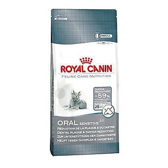 Royal Canin kat mondelinge gevoelige 30, katachtige droog voedsel, compleet kattenvoer 8kg