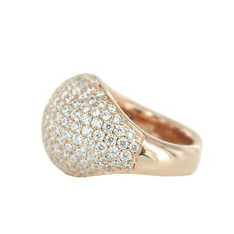 ESPRIT women's ring rostfritt stål Rosé Medea ESRG02034C1