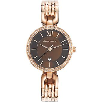 Pierre Cardin ladies watch wristwatch stainless steel PC107602F09