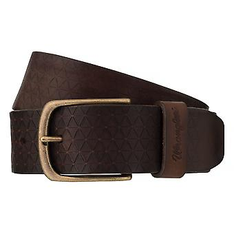 WRANGLER belt leather belts men's belts Brown 6526