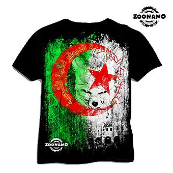 Zoonamo T-Shirt Algeria of classic