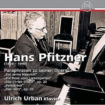 Pfitzner / Urban, Ulrich - parafraser af hans operaer [CD] USA import