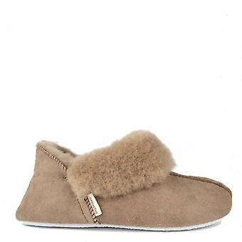 Shepherd of Sweden Nina Stone Sheepskin Slipper Boot