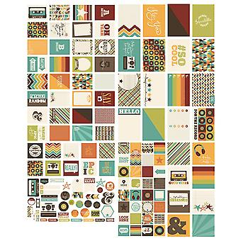 Sn@p! Double-Sided Cards & Bits/Pieces Die-Cuts Pack 138pcs-Epic