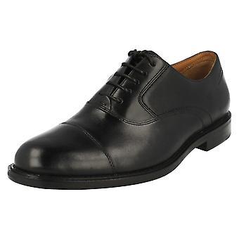 Clarks мужская формальных зашнуровать обувь Дорсет босс