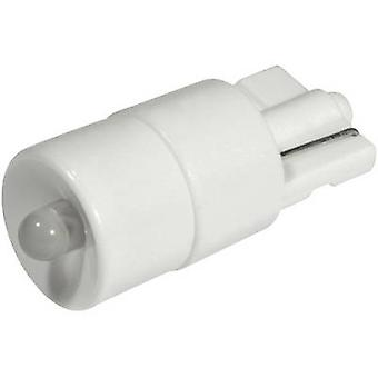 CML LED bulb W2.1x9.5d Warm white 12 Vdc, 12 V AC 1620 mcd