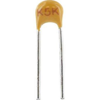 Ceramic capacitor Radial lead 2.2 nF 100 V 10 %