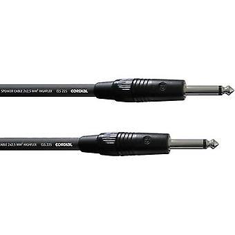 Cordial CPL 1,5 PP Instruments Kabel [1x Klinke Stecker 6,35 mm - 1x Klinke Stecker 6,35 mm] 1,5 m Schwarz