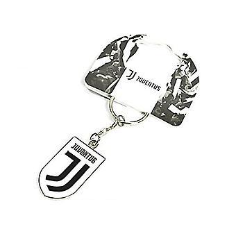 Juventus Fc New Crest Metal / Enamel Keyring