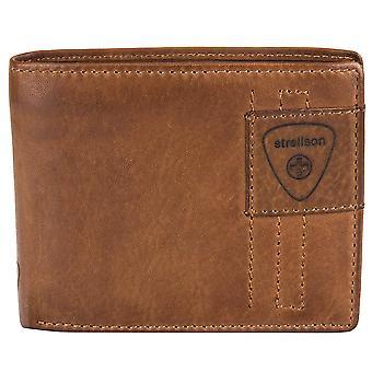 Strellson Preston billetera de cuero cartera billetera 4010001928