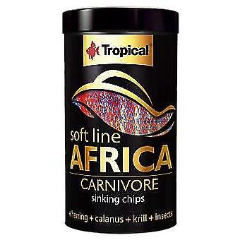 Tropical 67523 Soft Line Africa Carnivoros 100 ml (Fish , Food , Warm Water)
