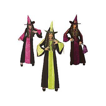 Kinderen kostuums meisjes kasteel heks