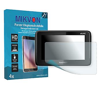 Blue&Me TomTom 2 LIVE Screen Protector - Mikvon Armor Screen Protector (Retail Package with accessories)