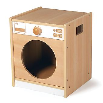 Tidlo Wooden Toddler Washing Machine Pretend Roleplay Kitchen Accessories