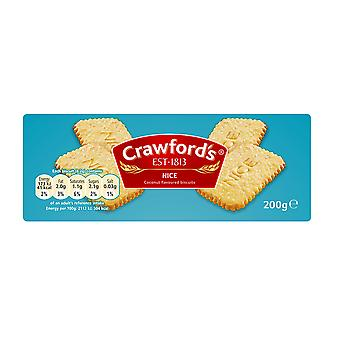 Crawfords schöne Kekse