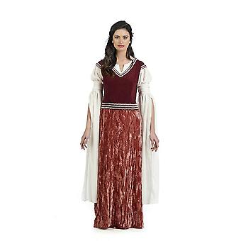 Medieval castle maiden Lady costume Ederdame maid ladies costume