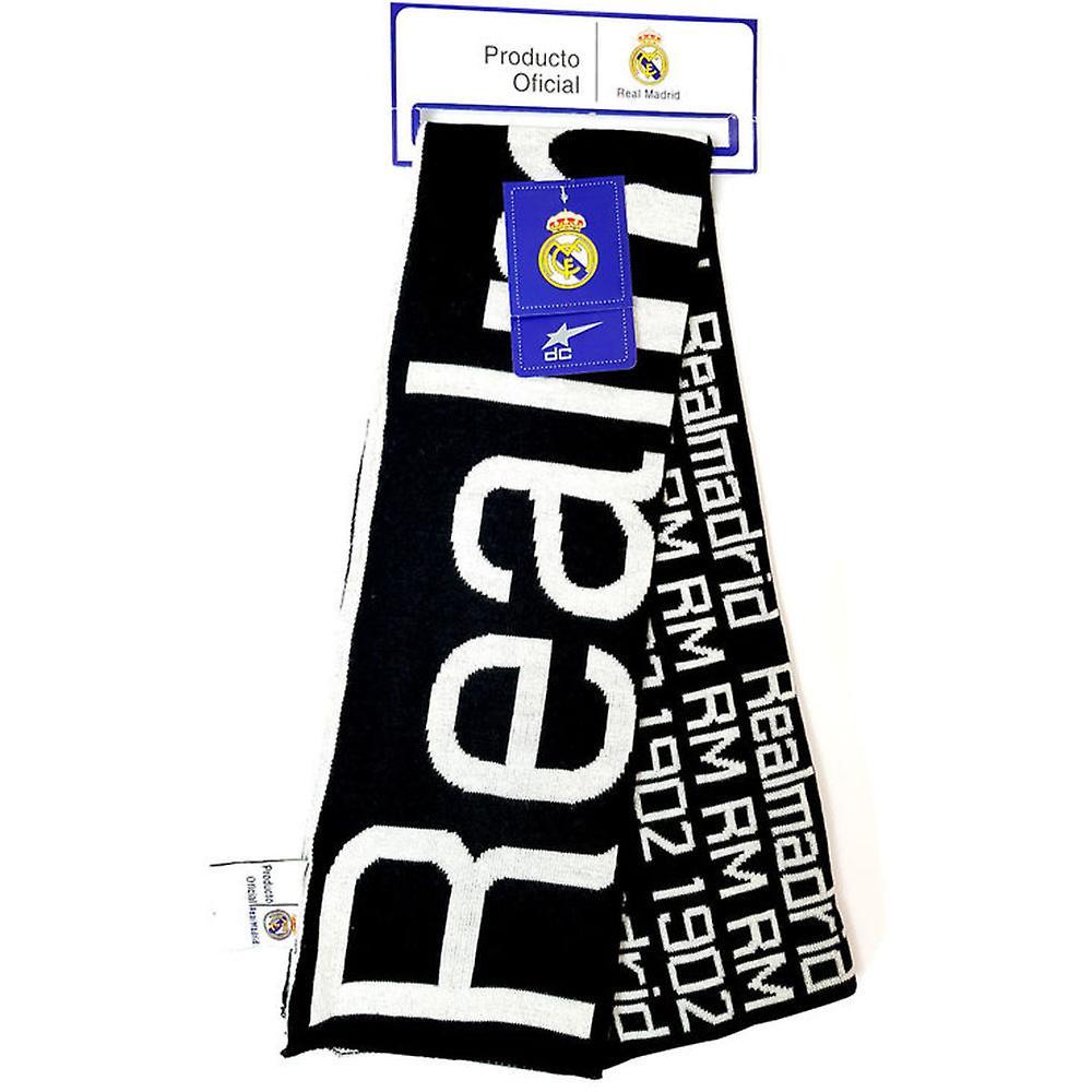 Real Madrid Halsduk Scarf Double Fan 140x18cm
