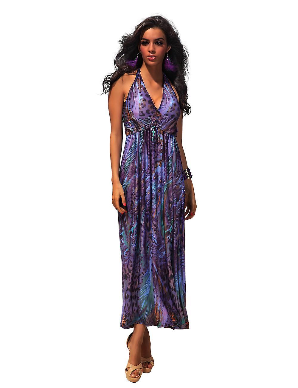 Waooh - Fashion - long animal print dress