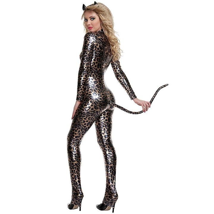Waooh 69 - Combination Ultimate Tight Dress Sexy Leopard