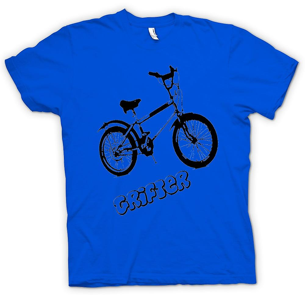 Mens T-shirt - Grifter - Old Skool Retro Bike