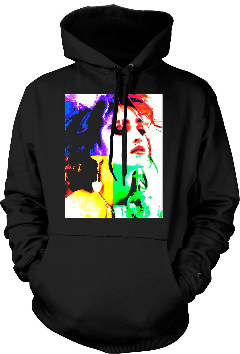 Mens Hoodie - Madonna - Pop Art