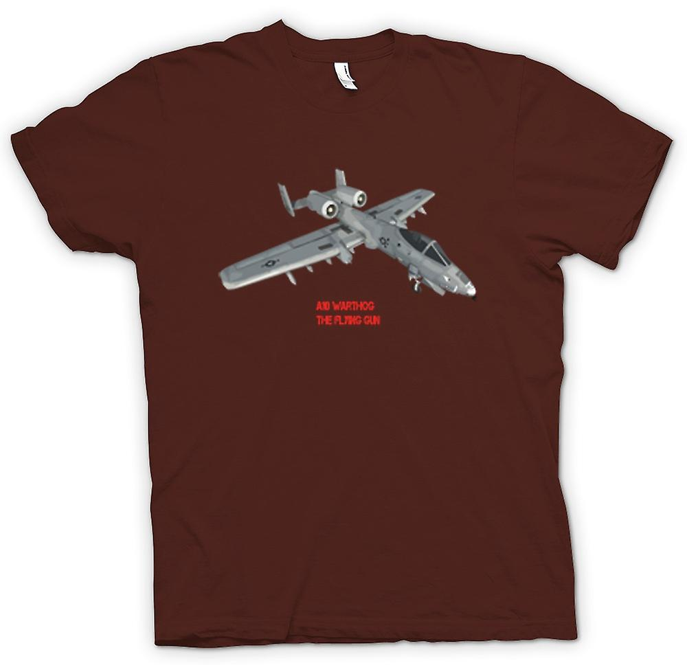 Herren T-Shirt - A10 Warthog - The Flying Gun