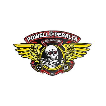 Powell Peralta Yellow Winged Ripper Lapel Pin Badge